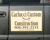 Carlucci Custom Contruction Vehicle Magnet (Hopewell, NJ)